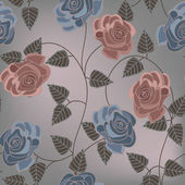 Vintage flower background — Stockvector