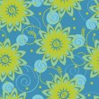 Seamless floral pattern — Stock Vector #34334759