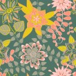 Seamless floral pattern — Stock Vector #34334769