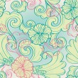 Seamless floral pattern — Stock Vector #34334907