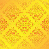 Damask wallpaper — Stock Vector