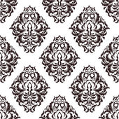 Damask wallpaper — Vecteur