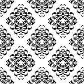 ダマスク織の壁紙 — ストックベクタ