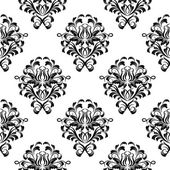 Damask wallpaper — Stok Vektör