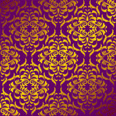 Damask background — Stock Vector