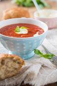 томатный суп — Стоковое фото