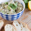 Stock Photo: Eggplant dip