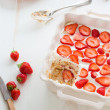 Strawberry tiramisu — Stockfoto