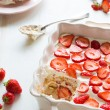 Strawberry tiramisu — Foto de Stock