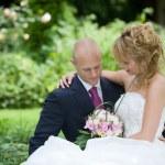 Bride and groom — Stock Photo #2949187
