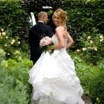 Cheeky bride — Stock Photo #2949252