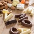 Traditional Sinterklaas candy — Stock Photo