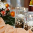 Candle Decoration — Stock Photo