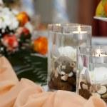 Candle Decoration — Stock Photo