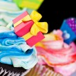 Cup Cke decoration — Stock Photo
