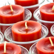 Red candles — Foto de Stock