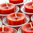 Red candles — Stok fotoğraf