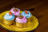 Cup Cake decoration — Stock Photo