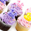 Stock Photo: Cup Cake decoration