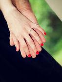 Hand in hand — Stockfoto