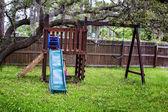 Kid's playground — Stock Photo