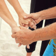 Holding hands — Stock Photo #31000345