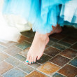 Stock Photo: Bare Foot