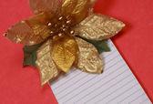 Lista de regalos de navidad — Foto de Stock