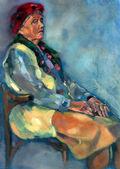 Senior lady portrait — Stock Photo