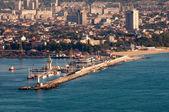 Varna harbour — Stock Photo