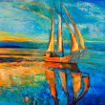 Sail ship — Stock Photo #20430455