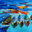 Boats - Zdjcie stockowe