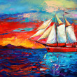 Sail ship — Stock Photo #34196943