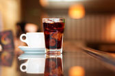 Cola and coffee — Stock Photo