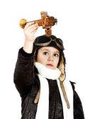 Chłopiec gra — Zdjęcie stockowe
