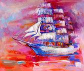 Sail ship — Stock Photo