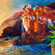 Cinque Terre coast — Stock Photo