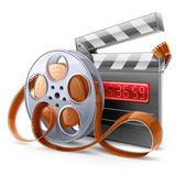 Film-Elementen — Stockvektor