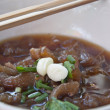 Beef noodle — Stock Photo #24220243