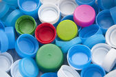 Colorful plastic bottle cap — Stock Photo