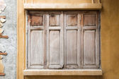 Wooden window background — Stock Photo