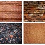 Stone brick wall background — Stock Photo #4183387