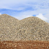 Heaps of granite elimination — Foto Stock