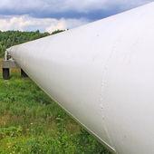 Yüksek basınçlı boru hattı — Stok fotoğraf