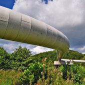 The high pressure pipeline — Foto Stock