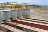 En la construcción del puente — Foto de Stock