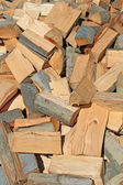 Chipped fire wood — Stock Photo
