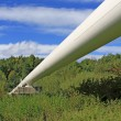 Stock Photo: High pressure pipeline