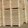 Stock Photo: Edging board in stacks