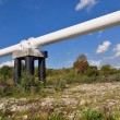 Stock Photo: The high pressure pipeline